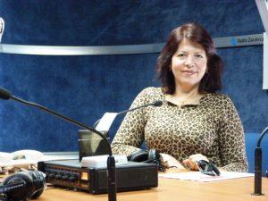 De charla con Jovita Aguilar
